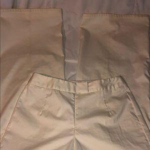RENE LEZARD NWOT Crisp White Summer Trouser Sz36/2